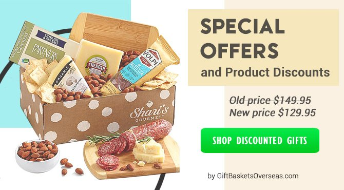 Discounted gift baskets